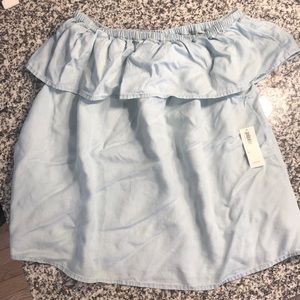 NWT Old Navy off the shoulder top